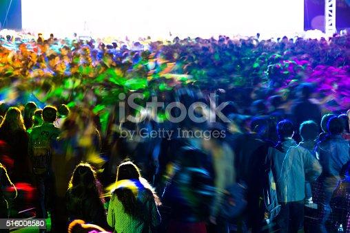 istock Concert crowd 516008580