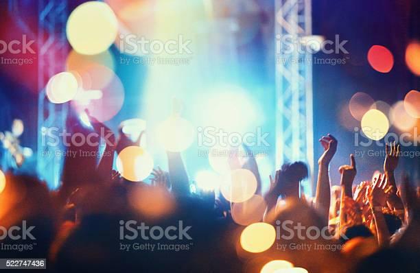 Konzert Menschenmenge Stockfoto und mehr Bilder von Applaudieren
