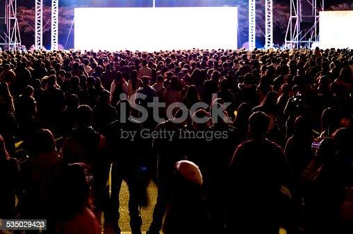 istock Concert crowd 535029423