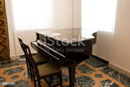 istock Concert grand piano 92573197