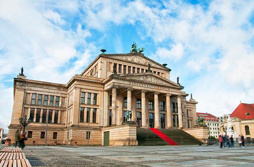 Concert Hall (Konzerthaus) at Gendarmenmarkt square, Berlin