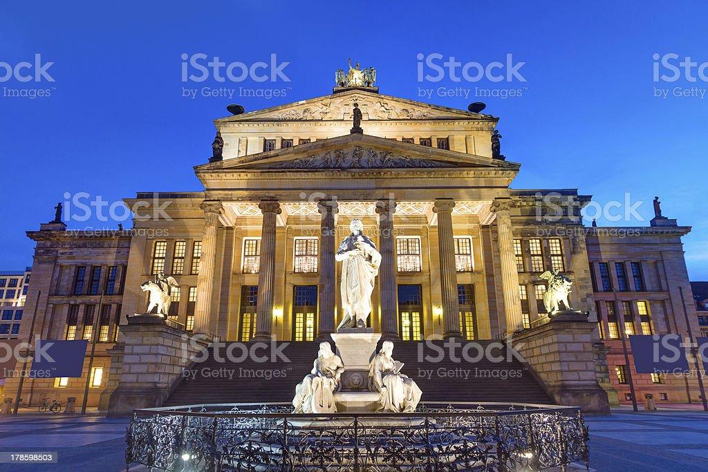 Concert hall at the Gendarmenmarkt royalty-free stock photo