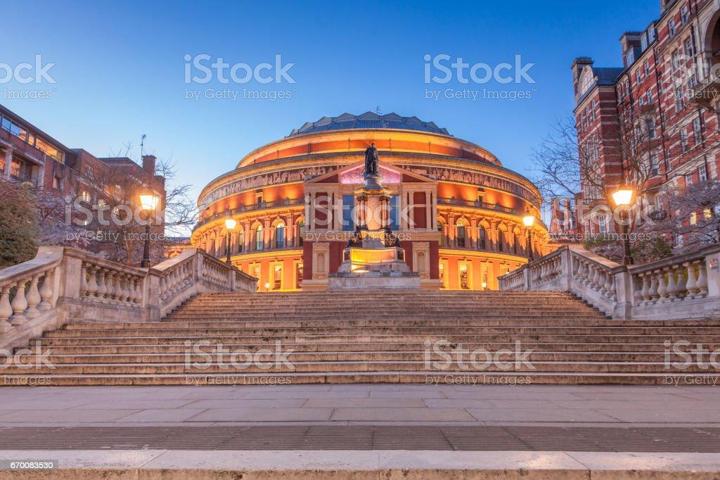 Concert Hall, London stock photo
