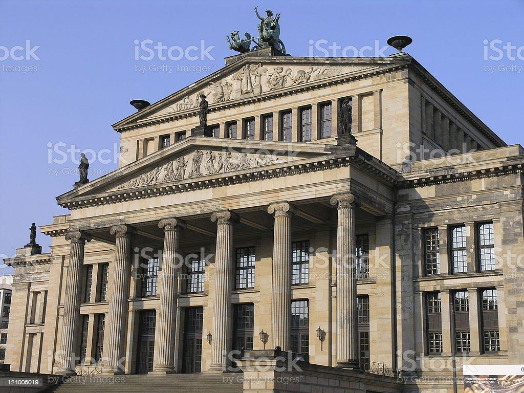 ベルリンのコンサートホール ロイヤリティフリーストックフォト