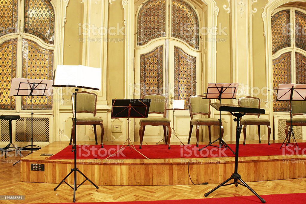 concert hall royalty-free stock photo