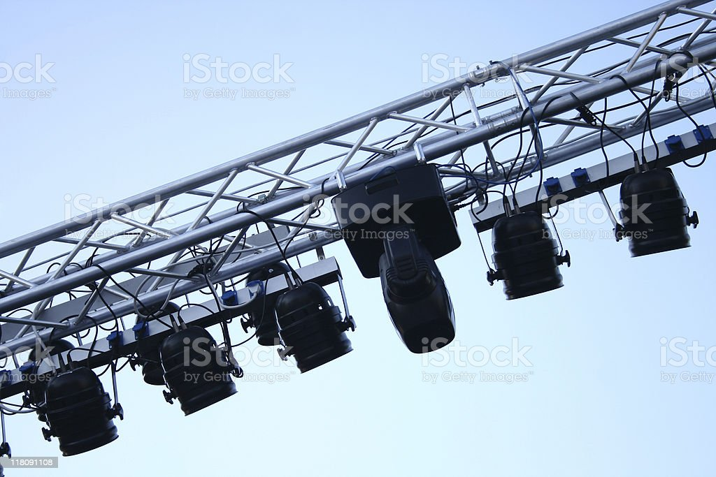 Concert Lighting royalty-free stock photo