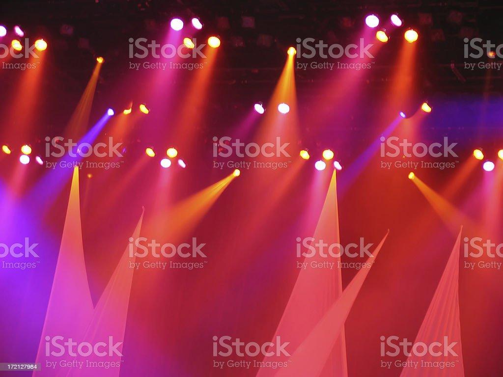 Concert lighting royalty-free stock photo