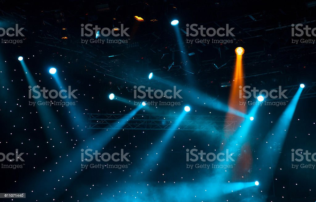 Concert Lights Background stock photo