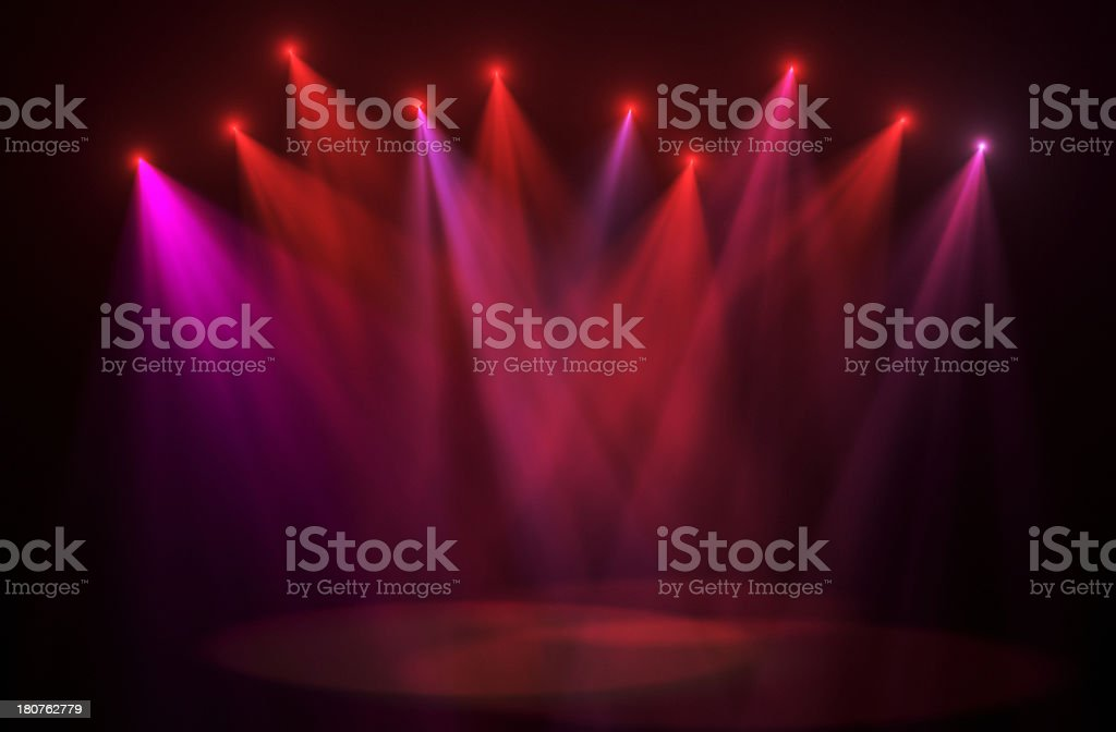 concert lights backgrounds stock photo