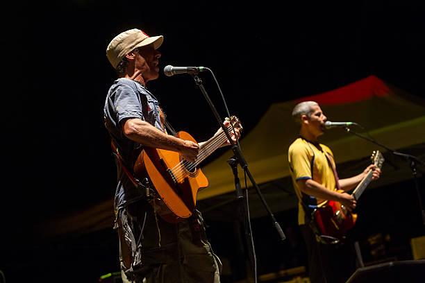 Concert of the band Manu Chao La Ventura stock photo