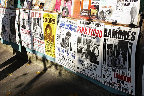 Concert des affiches des années 60 et 70 - Photo