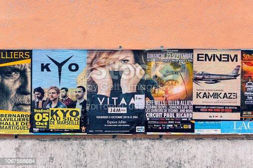 istock Concert posters 1067568684