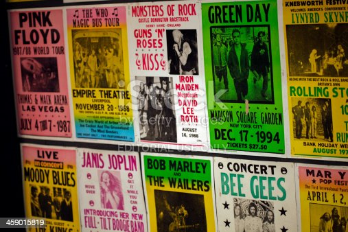 istock Concert posters 459015819