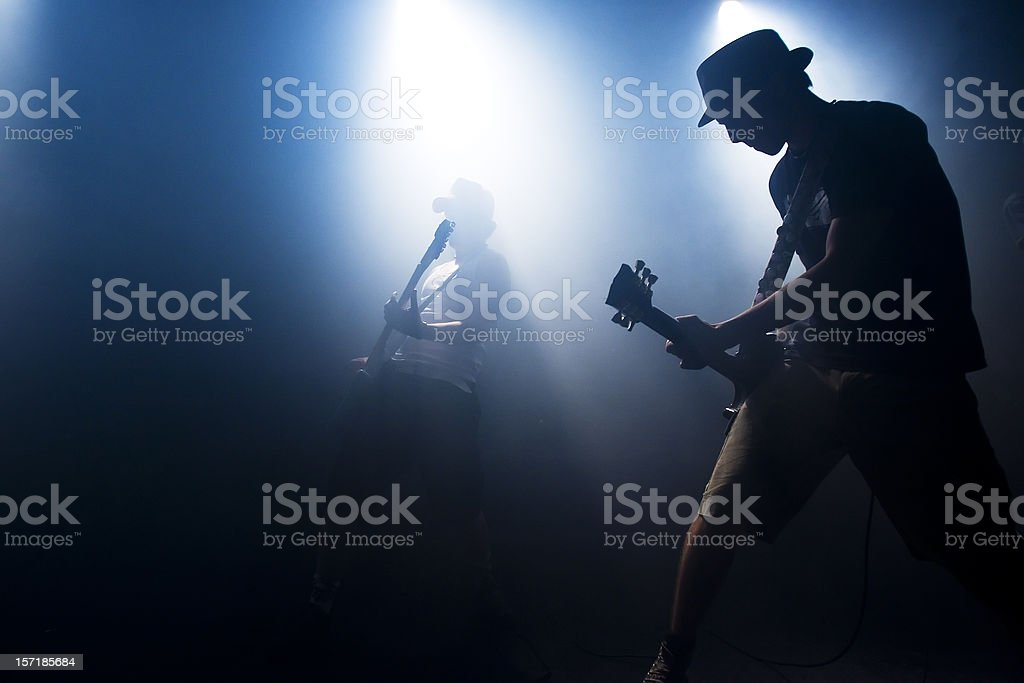 concert scene stock photo