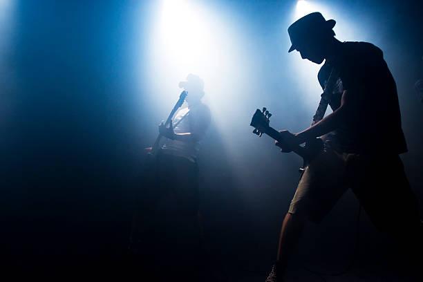 escena de concierto - músico fotografías e imágenes de stock