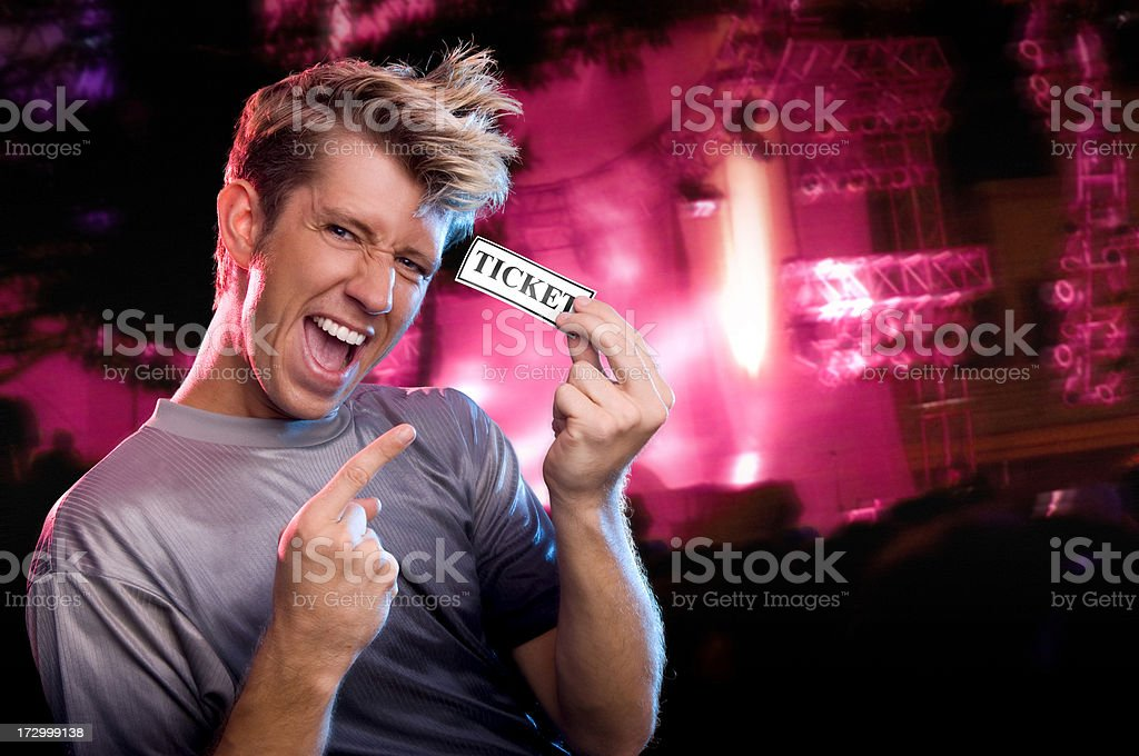 Concert Tickets! royalty-free stock photo