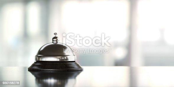 istock Concierge Bell Over Defocused Background 930158278
