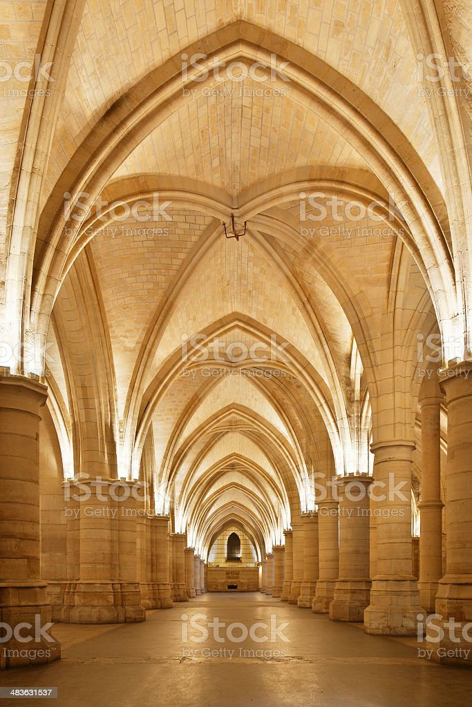 Conciergerie Interior royalty-free stock photo