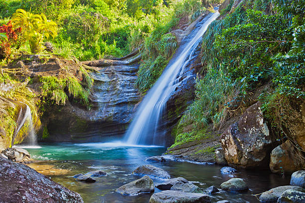 Concord Fall, Grenada W.I. stock photo