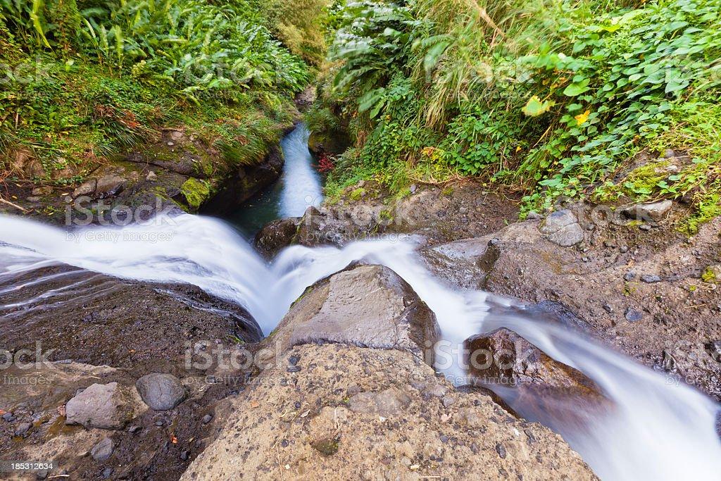 Concord Falls, Grenada W.I. royalty-free stock photo