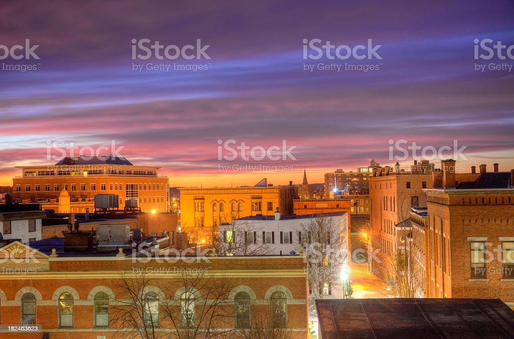 Concord, New Hampshire royalty-free stock photo