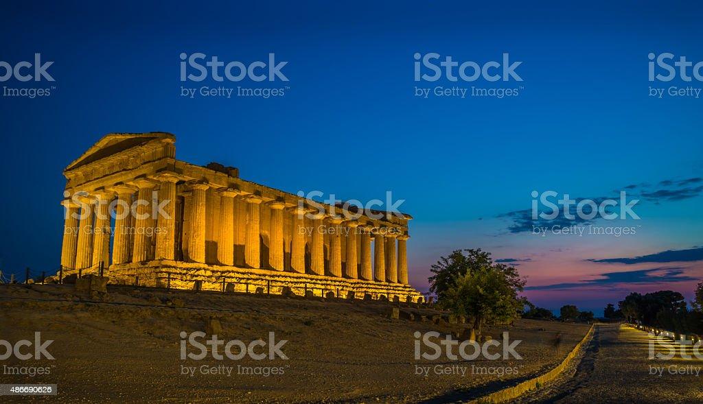 Concordia Tempio - foto stock