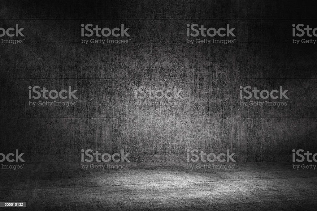 Concrete background, street, garage stock photo