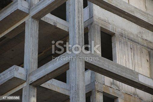 istock Concrete Beams 471685586