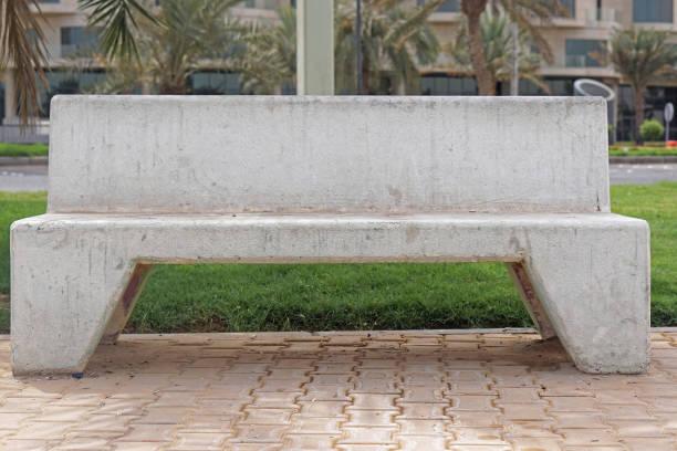 Best Concrete Park Benches Stock Photos Pictures Royalty