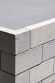 Concrete Block Corner