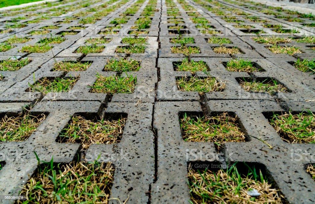 Concrete block floor zbiór zdjęć royalty-free