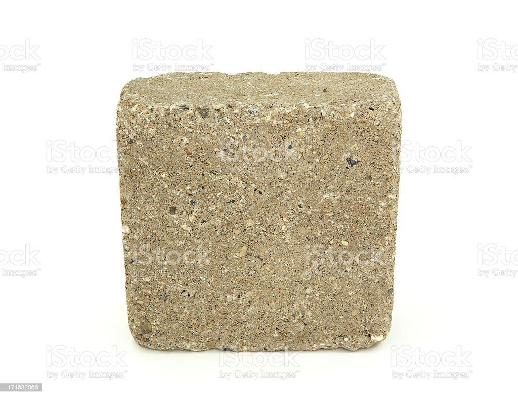 Concrete Block royalty-free stock photo