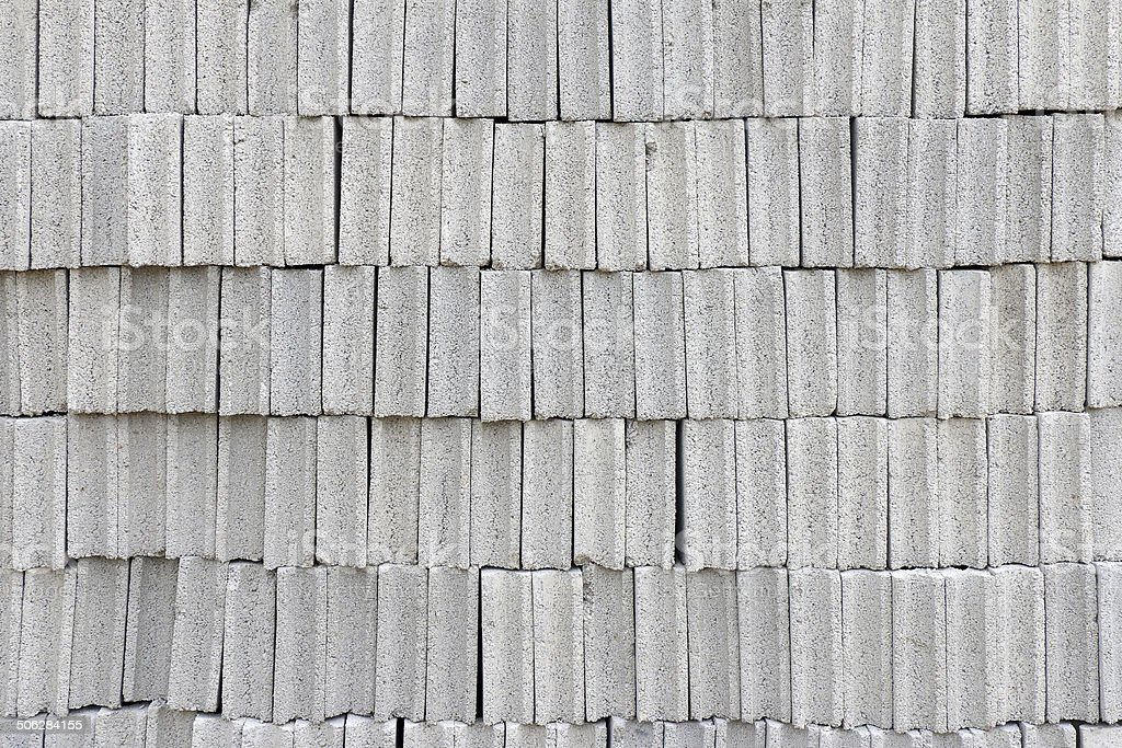 concrete block the bricks used in the construction royalty-free stock photo