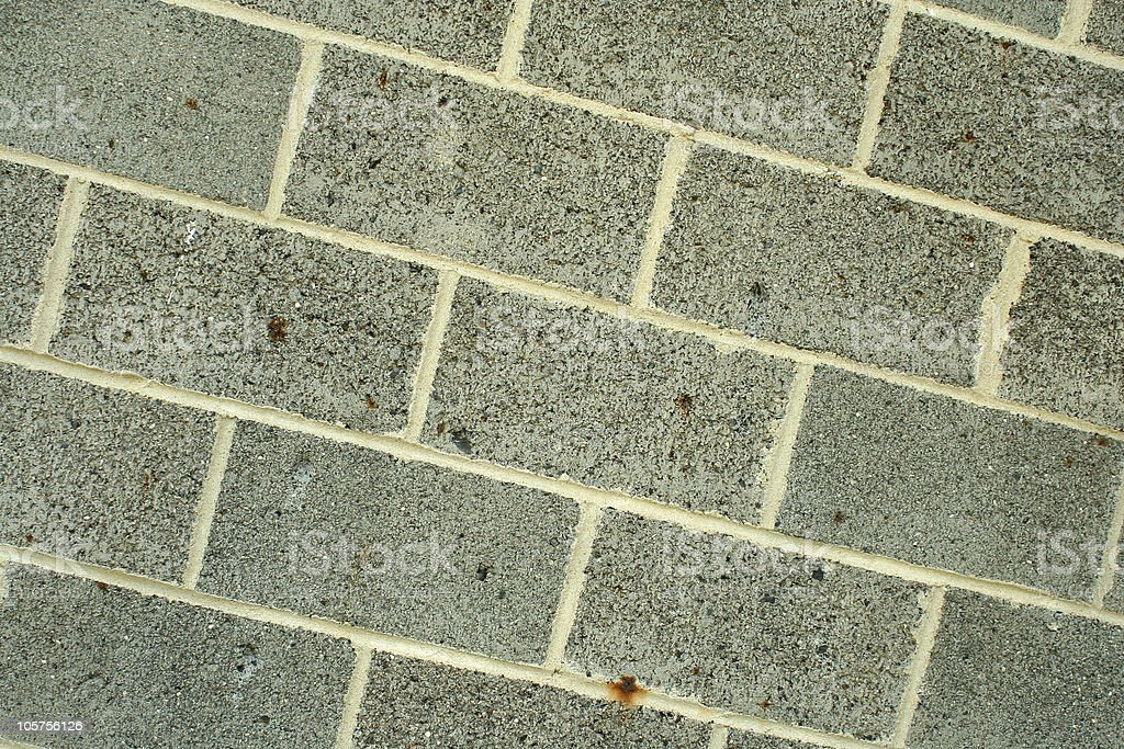 Concrete block wall background royalty-free stock photo