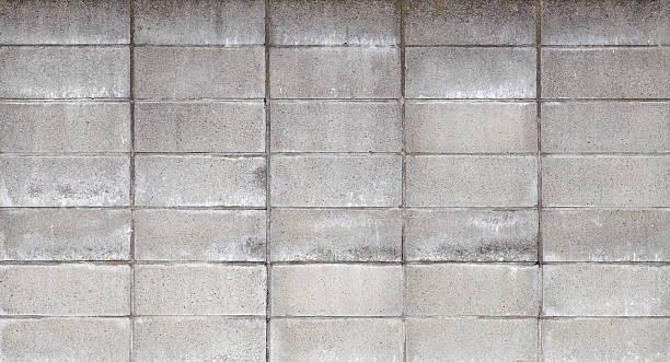 betonblock wand hintergrund - betonblock wände stock-fotos und bilder