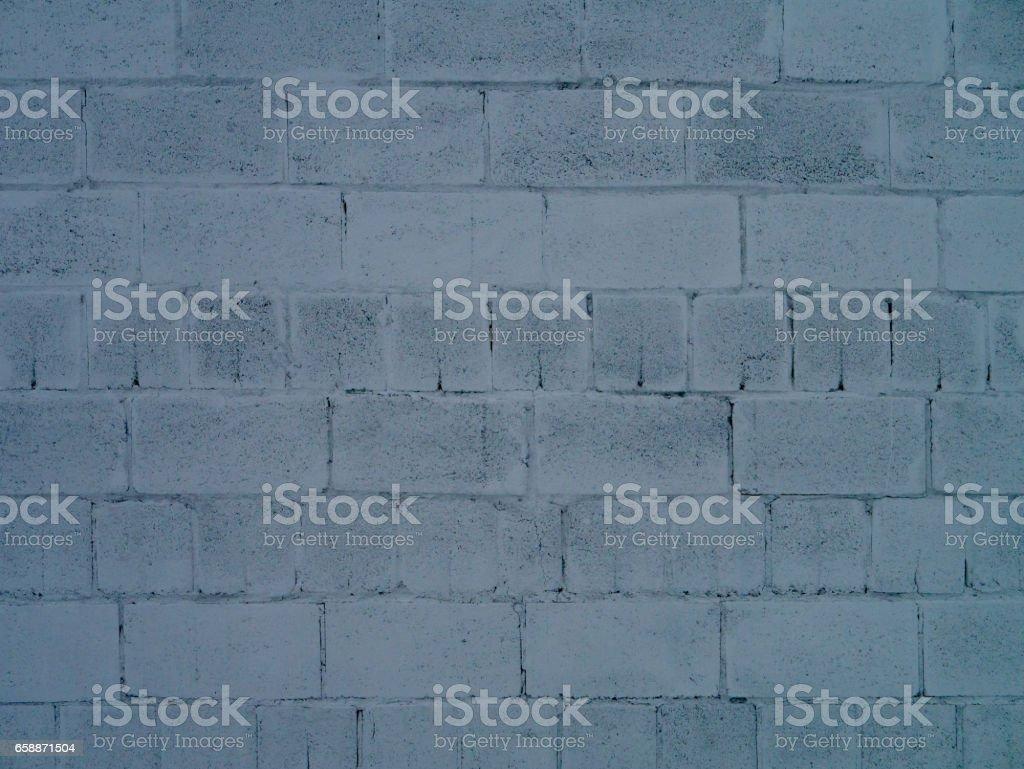 Bloco de Concreto parede e textura de fundo sem costura - foto de acervo