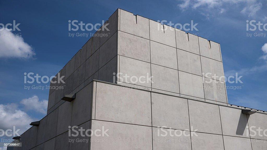 concrete box stock photo
