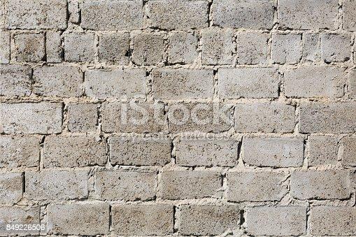 611897876istockphoto Concrete brick wall background 849226506