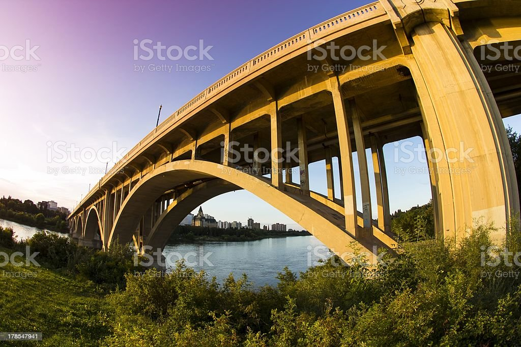 Concrete Bridge royalty-free stock photo