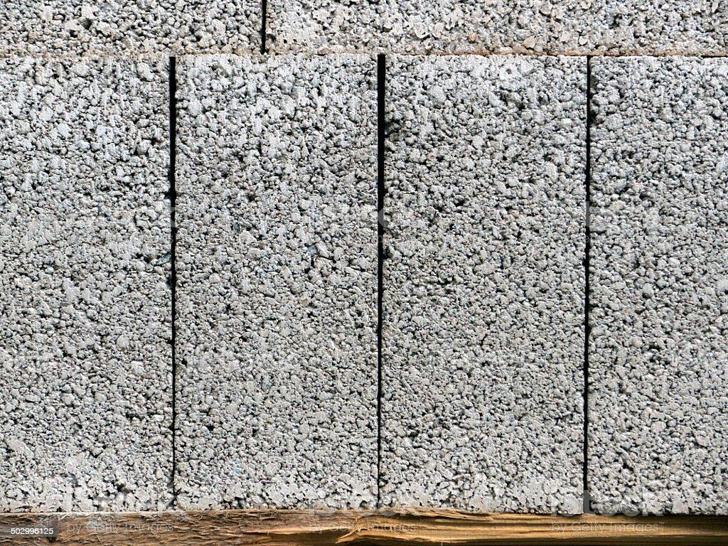 Concrete Building Blocks stock photo