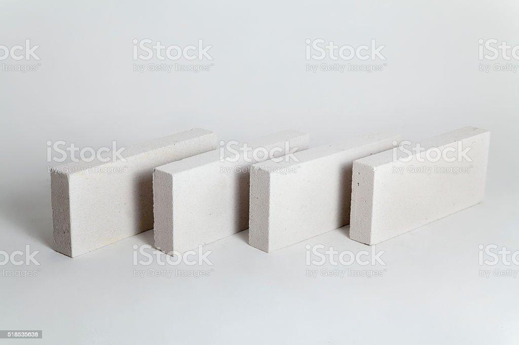 Concrete Construction Blocks stock photo