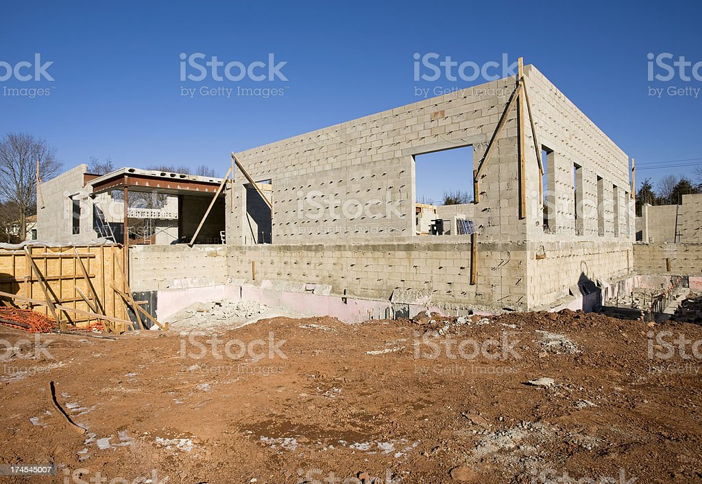 Concrete Construction royalty-free stock photo