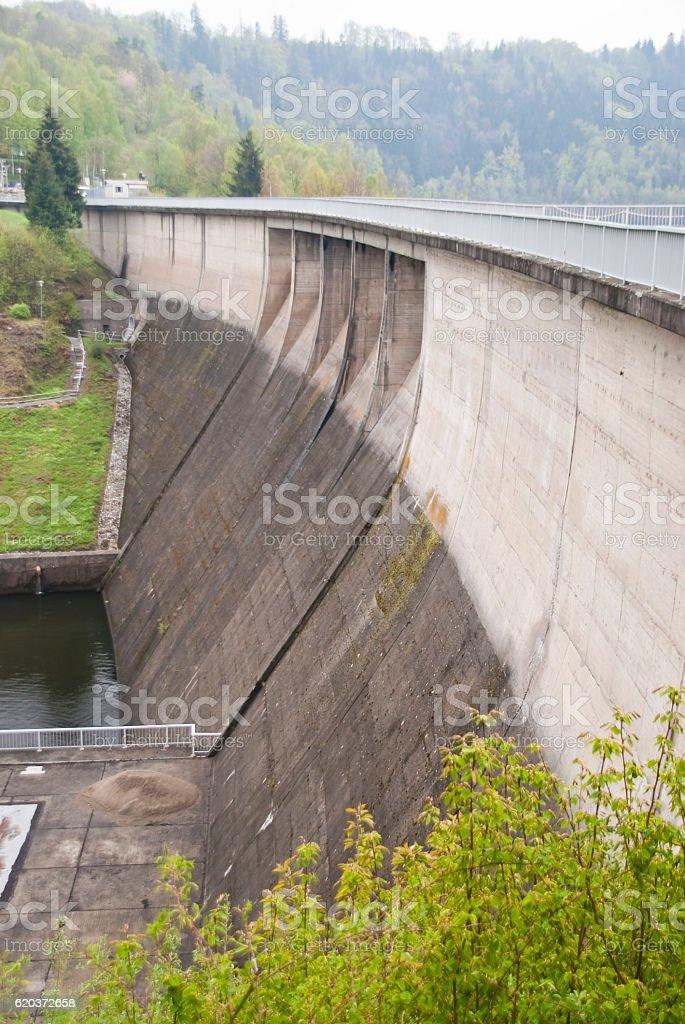 Barragem de Betão foto de stock royalty-free