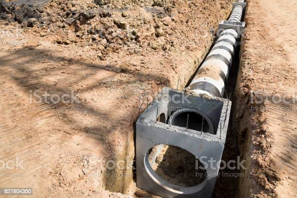 Drainage pipes,construction site,pipes,drainage,industrial
