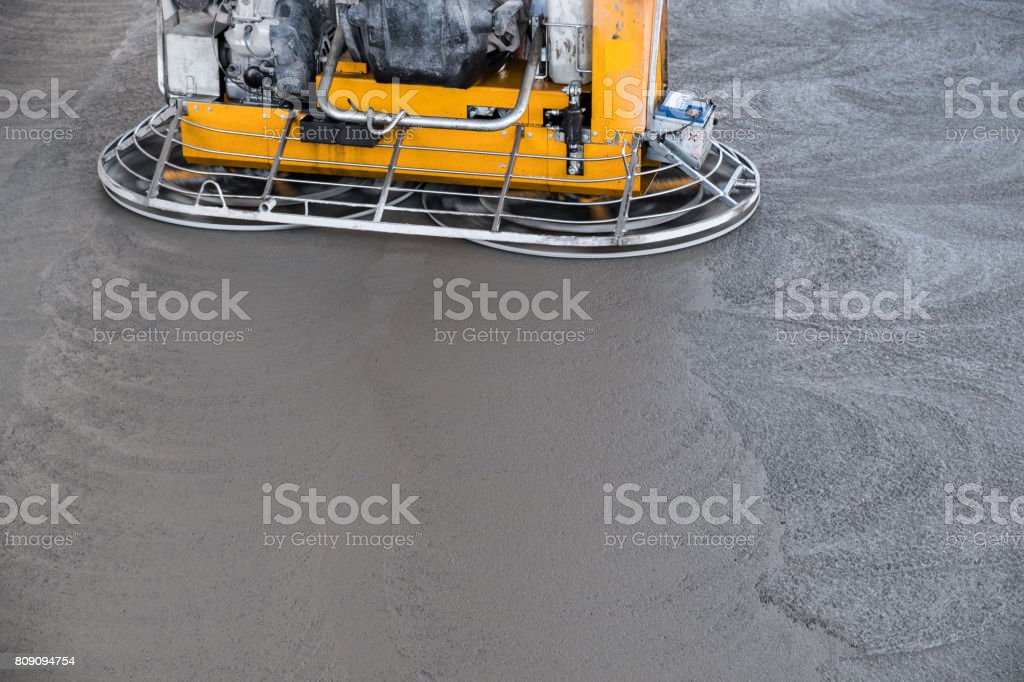 Concrete floor grinding machine royalty-free stock photo