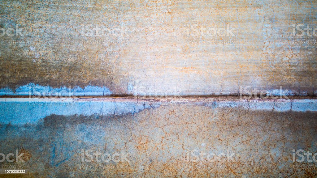 Concrete Horizon Blue adn Beige stock photo
