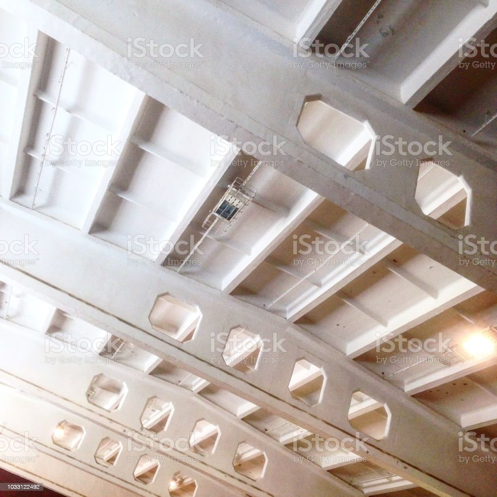 Concrete in Vilnius stock photo