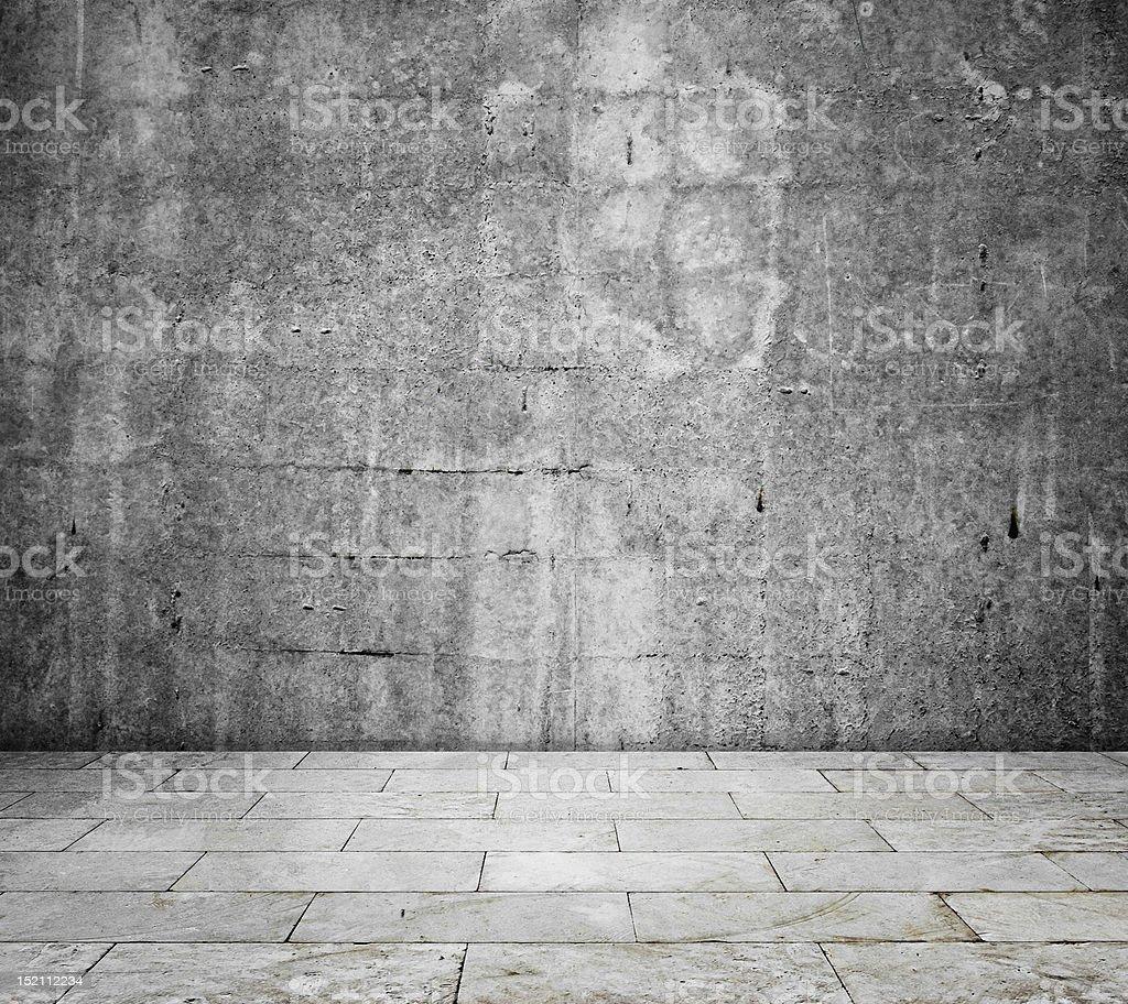 concrete interior royalty-free stock photo