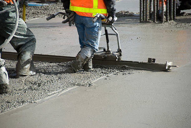 beton-etage - betonbau stock-fotos und bilder