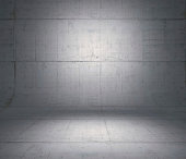 Concrete panels used as background.